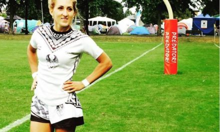 Portrait de rugbywoman : Olga Blanutca, capitaine de l'Ukraine