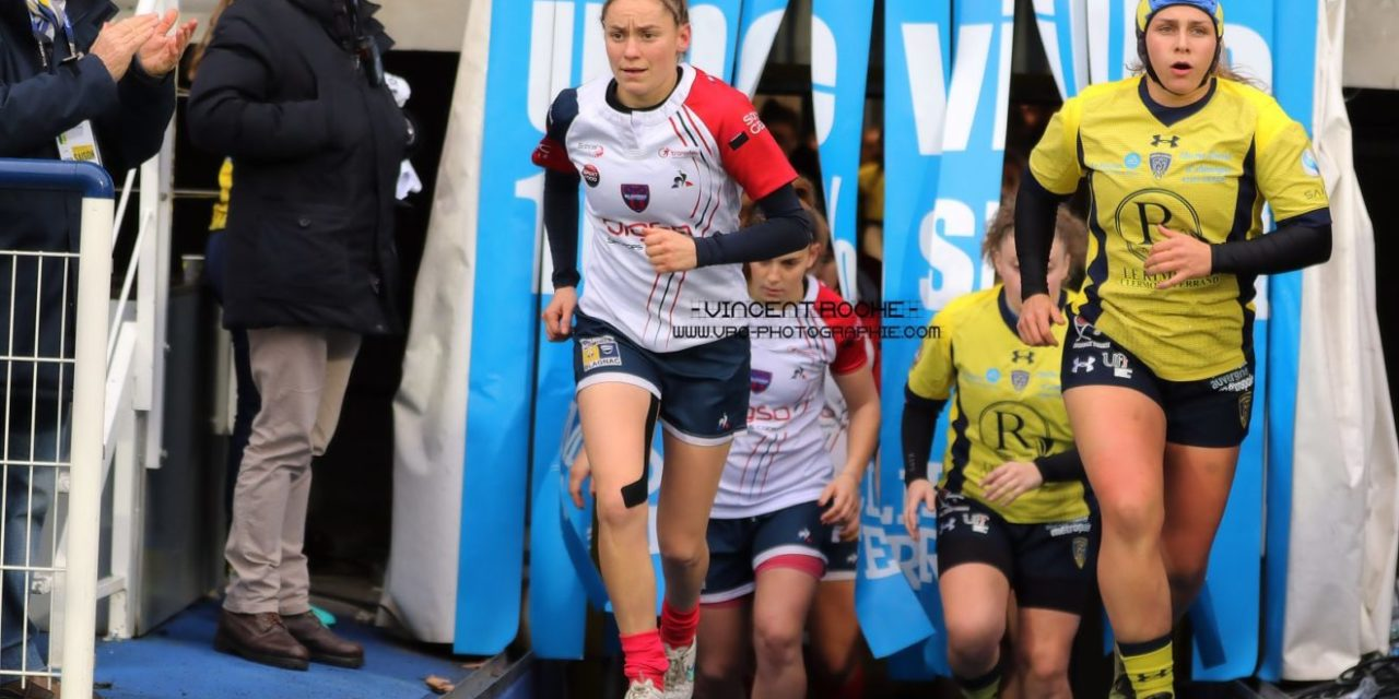 Portrait de rugbywoman : Caroline Thomas, co-capitaine de Romagnat