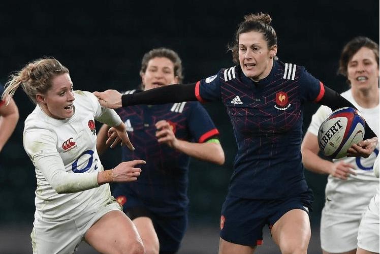 caroline ladagnous - Rugby féminin équipe de France