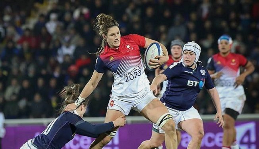 Résumé : tournoi des 6 nations féminin (J2)