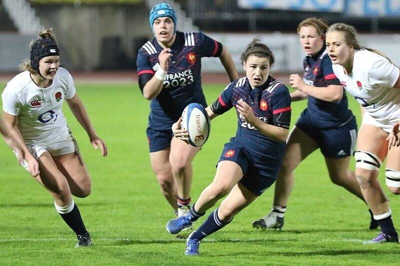 Gabrielle Vernier Equipe de France rugby féminin