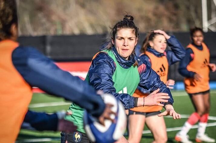 Portrait de rugbywoman : Maëla Mancip capitaine de l'équipe de France U20