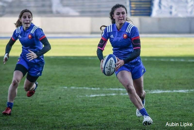 Portrait de rugbywoman : Mathilde Coutouly internationale à 7