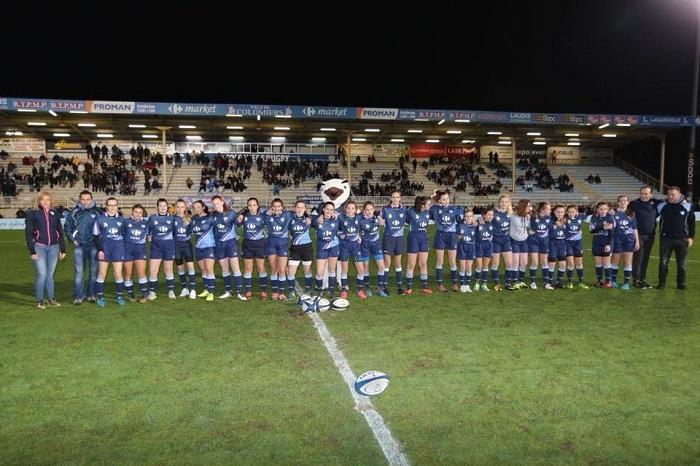 Colomiers renforce son engagement pour le rugby féminin