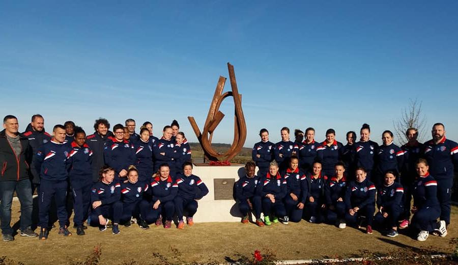 L'Equipe de France Militaire rencontre les Pays-Bas