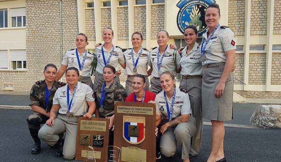 Le Rugby Club Armée de Terre féminin lance son recrutement