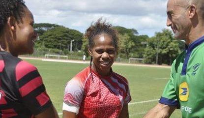 Yolaine Yengo, capitaine de la Nouvelle Calédonie et peut être bientôt en EDF!