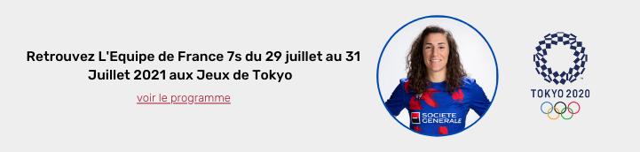 Jeux de tokyo 2020 rugby feminin