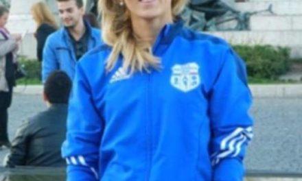 Olga Blanutca, capitaine de l'Ukraine