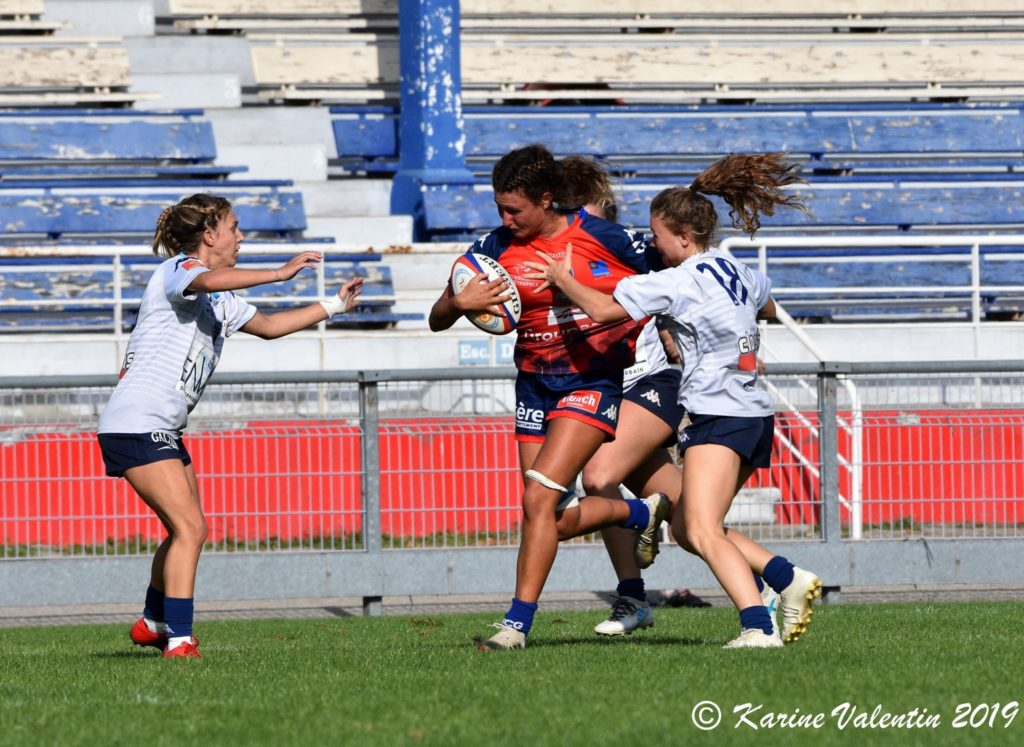Romane Silvreste Fcg Amazones Rugby Féminin