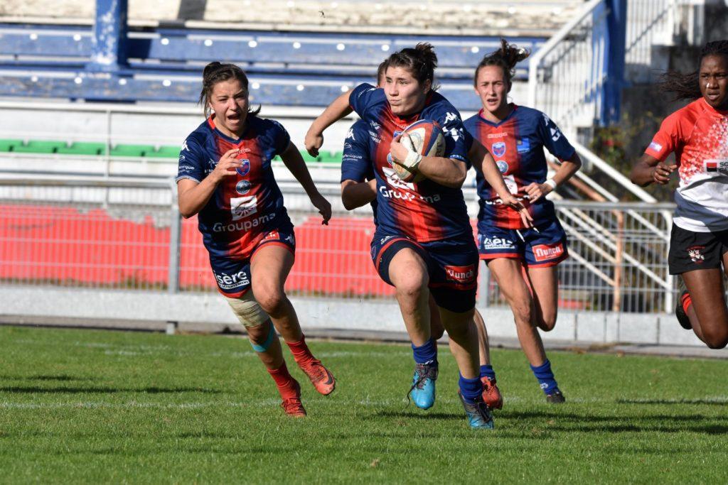 Aude Constans - rugby féminin - fcg amazones