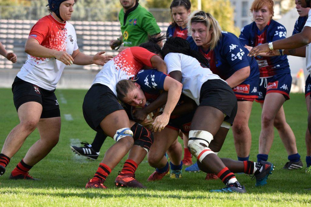 Emeline Gros - rugby féminin - fcg amazones