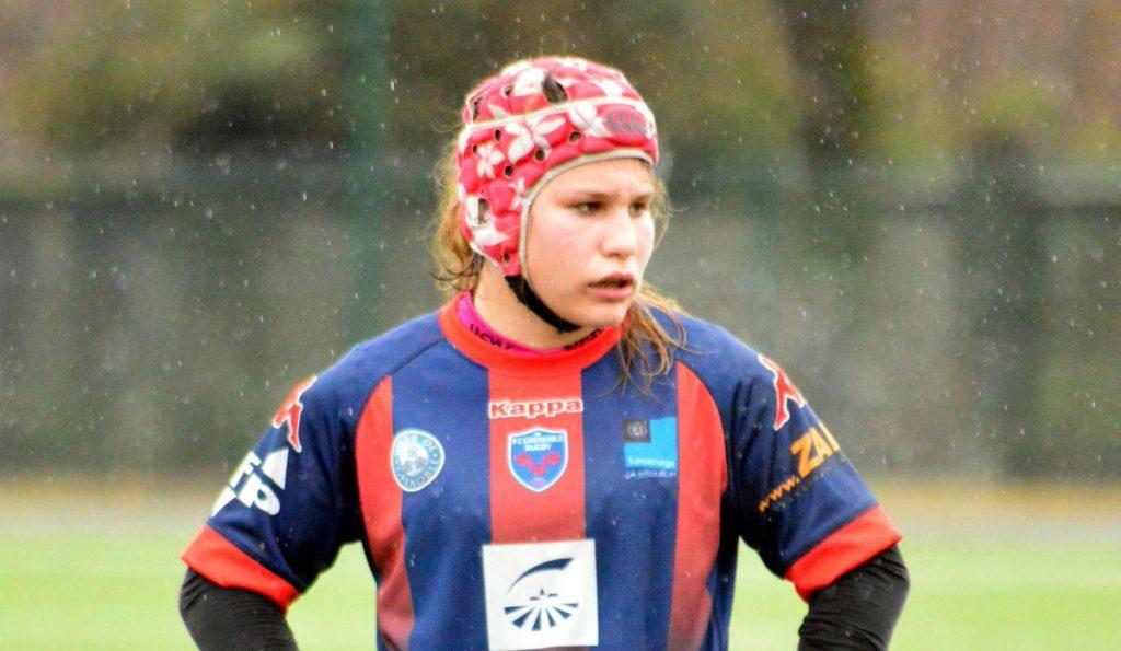 Suzie Brozda- rugby féminin - fcg amazones