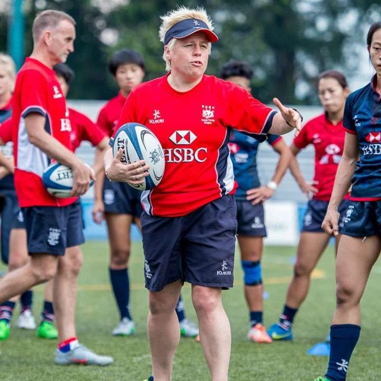 JO HULL, entraîneure principale de l'équipe nationale d'Hong-Kong