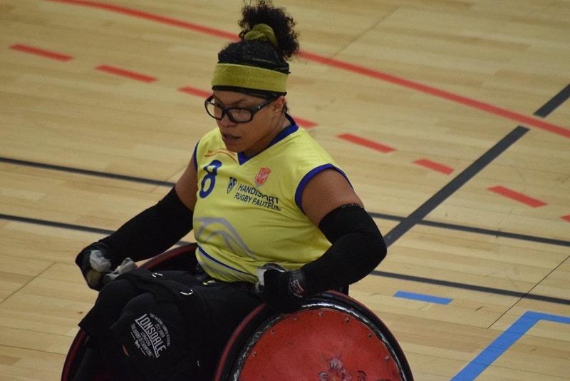 Orane Brouillet se hisse vers le haut niveau du rugby fauteuil