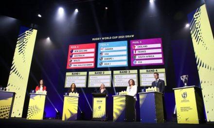 Tirage de la coupe du monde de rugby 2021 en Nouvelle-Zélande