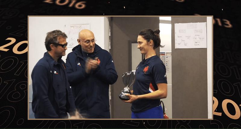 Jessy Trémoulière et Safi N'Diaye primées aux World Rugby Awards