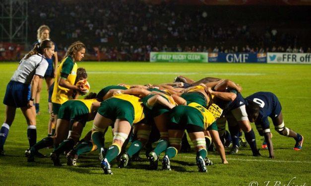Les joueuses des meilleures nations du rugby sont de plus en plus massives