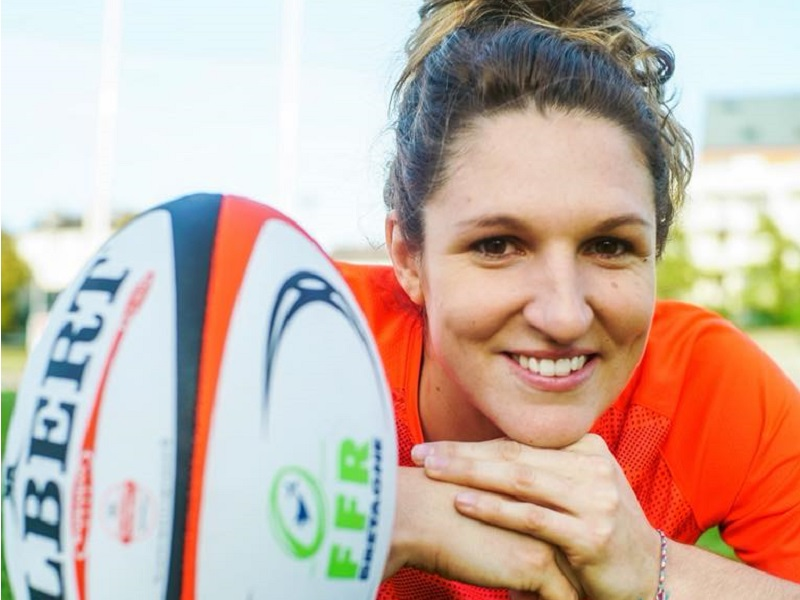 Lenaïg Corson, son combat pour le rugby au féminin