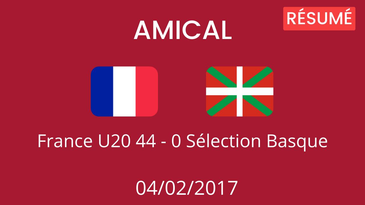 Sélection Basque 2017