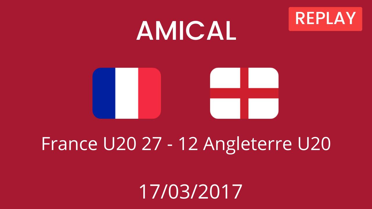 Angleterre U20 2017