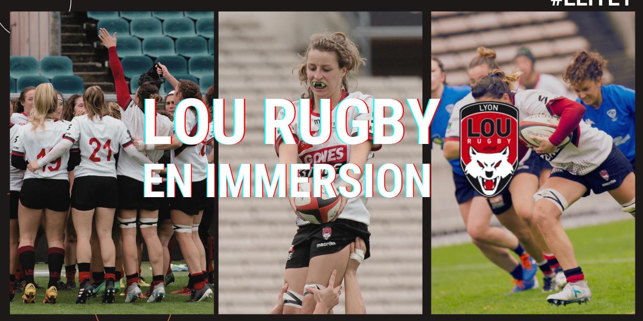 Reportage : en immersion avec le Lou Rugby Féminin